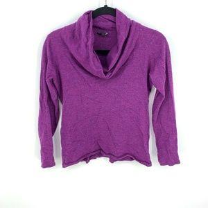 Eileen Fisher 100% Merino Wool Cowl Neck Pullover